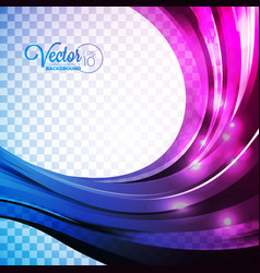 abstract background with violet waves vector image vector image