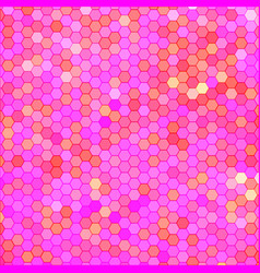 abstract geometric hexagon background vector image vector image
