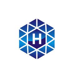 Diamond initial h vector