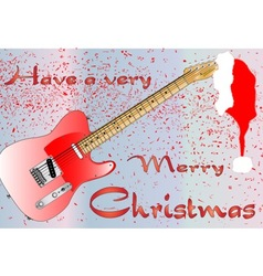 Rocking christmas vector