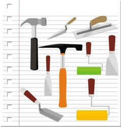 Building tools with on paper vector
