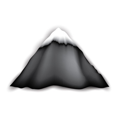 Big Mountain Logo vector image