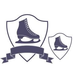 Figure skating vector image