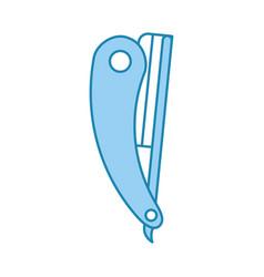 Razor blade isolated icon vector