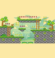 2d tileset platform game 15 vector