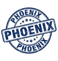 Phoenix stamp vector