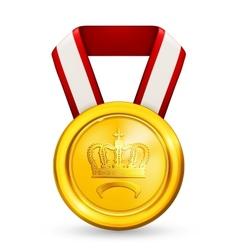 Premium Gold vector image