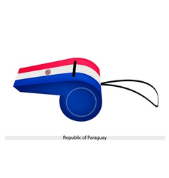 A whistle of the republic of paraguay vector