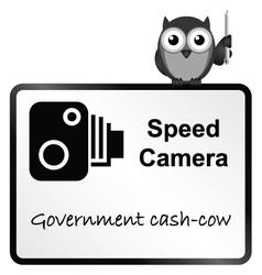 Speed Camera vector image