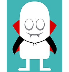 Animated personality vampire vector