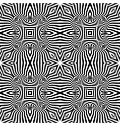 Design seamless monochrome textured background vector image