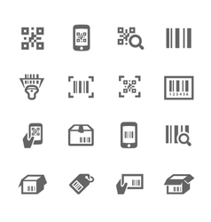 Check code icons vector