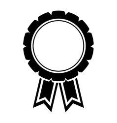 Award ribbon isolated vector image