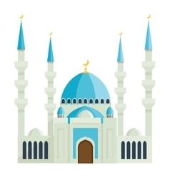 Taj Mahal temple vector image