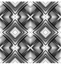 Seamless pattern of rhombuses vector