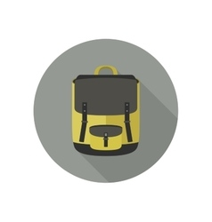 Icon of school bag vector