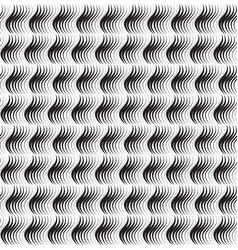 Abstract geometric wave pattern stripe wavy line vector