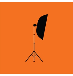 Icon of softbox light vector image