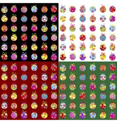 wrapping paper vector image vector image