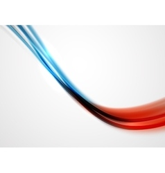 Modern curve stripes template vector