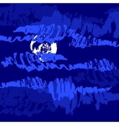 Sketch of clouds vector image