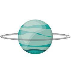 uranus planet space image vector image