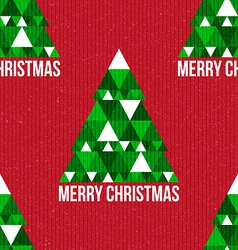 Christmas seamless retro pattern vector image