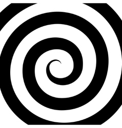 Hypnosis spiral pattern optical vector