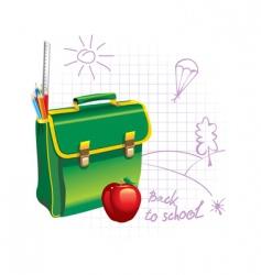 back to school illustration vector image