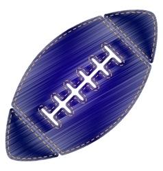 American simple football ball vector image vector image