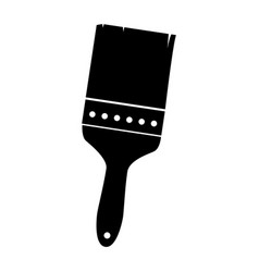 Brush painter tool icon vector