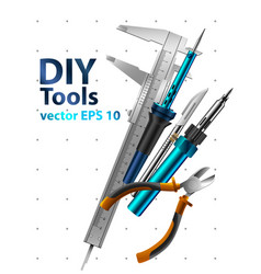 Diy tools vector