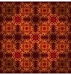 Seamless ornament Carpet vector image