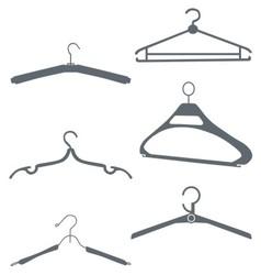 hangers vector image