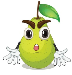 a pear vector image