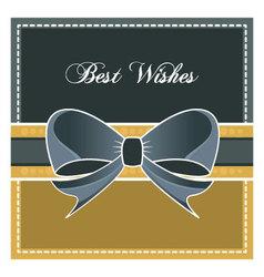 Best wishes design element vector