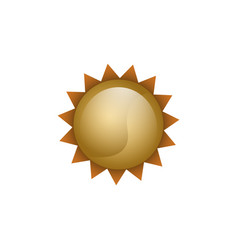 isolated summer object vector image vector image