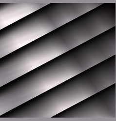 Metal background with stripes vector
