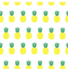 Pineapple seamless vector