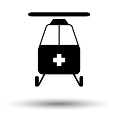 medevac icon vector image