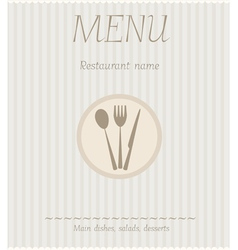 Menu striped vector
