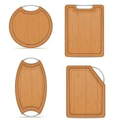 cutting board 10 vector image