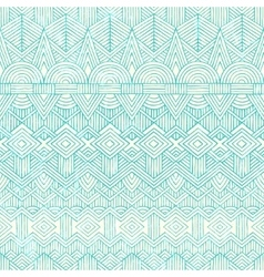 Hand drawn seamless pattern Abstract geometric vector image vector image