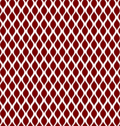 Red curve seamless pattern background vector