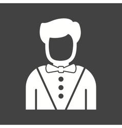 Casino Dealer vector image vector image