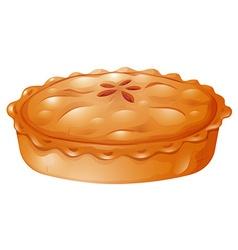 Fresh baked of pot pie vector