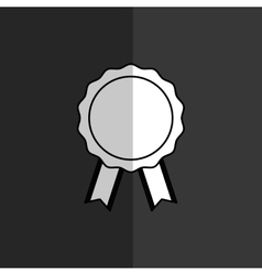 medal first place vector image