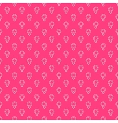 Repeating geometric background with symbol of vector