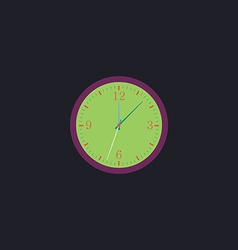 Time computer symbol vector image