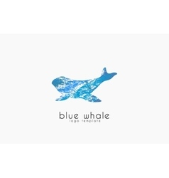 Whale logo creative logo sea logo water logo vector